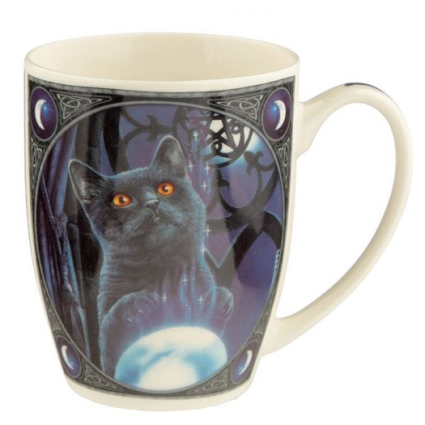 Porcelánový hrnček Čarodejnícky učeň, dizajn Lisa Parker 6 - pre milovníkov mačiek
