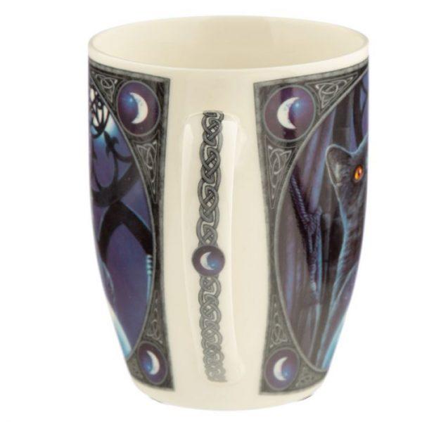 Porcelánový hrnček Čarodejnícky učeň, dizajn Lisa Parker 5 - pre milovníkov mačiek