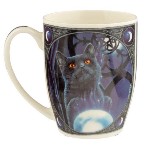 Porcelánový hrnček Čarodejnícky učeň, dizajn Lisa Parker 3 - pre milovníkov mačiek