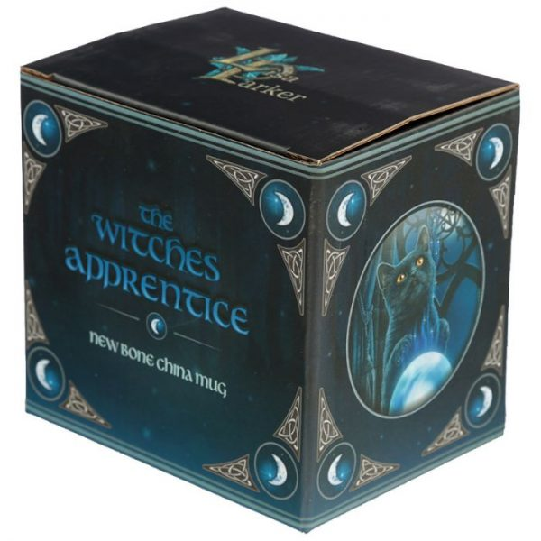Porcelánový hrnček Čarodejnícky učeň, dizajn Lisa Parker 4 - pre milovníkov mačiek