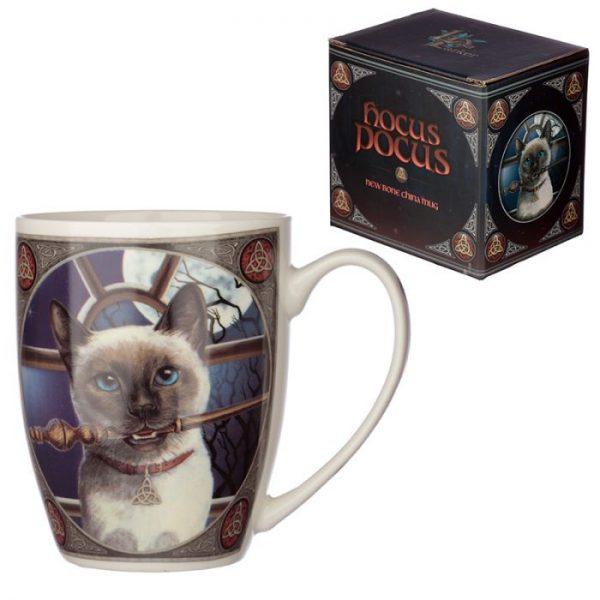 Lisa Parker mačka Hocus Pocus Porcelánový hrnček 1 - pre milovníkov mačiek