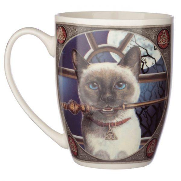 Lisa Parker mačka Hocus Pocus Porcelánový hrnček 2 - pre milovníkov mačiek