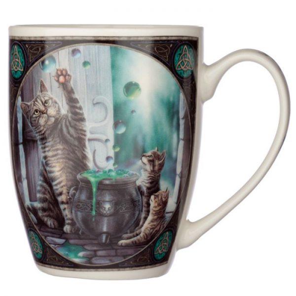 Lisa Parker Hubble Bubble Mačka a mačiatka Porcelánový hrnček 4 - pre milovníkov mačiek