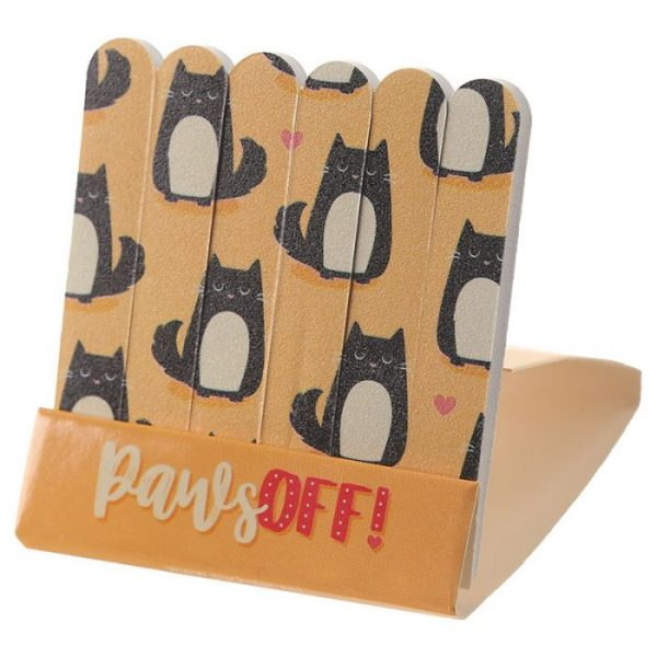 Mačka Feline Fine Pilníky na nechty 9 - pre milovníkov mačiek