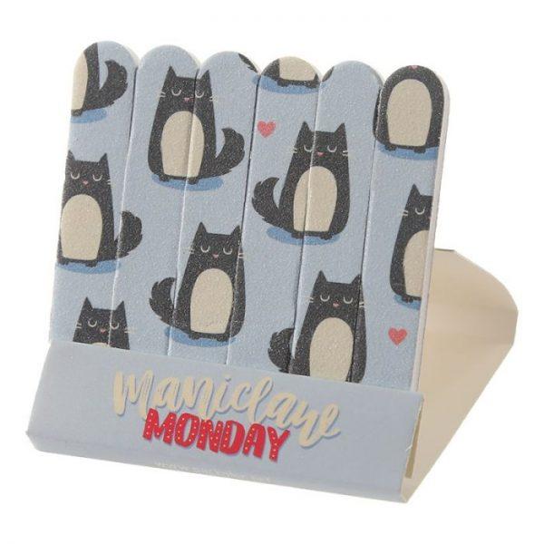 Mačka Feline Fine Pilníky na nechty 2 - pre milovníkov mačiek