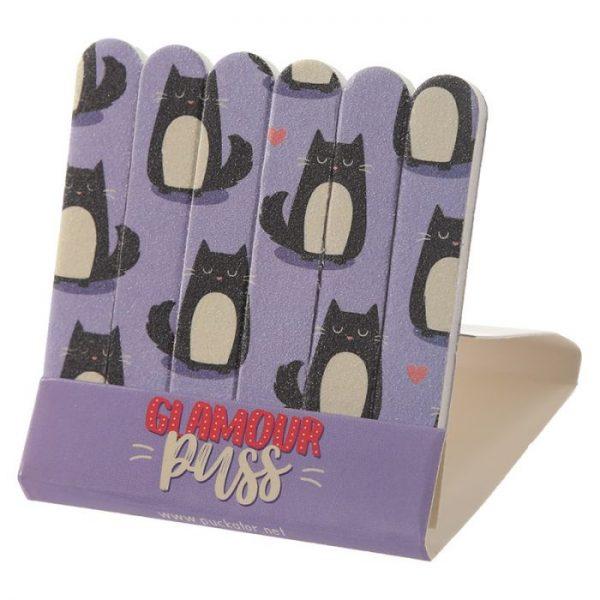 Mačka Feline Fine Pilníky na nechty 8 - pre milovníkov mačiek