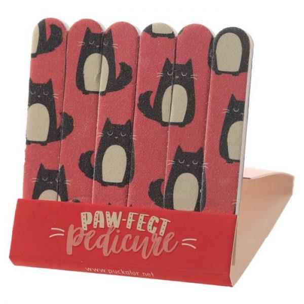 Mačka Feline Fine Pilníky na nechty 3 - pre milovníkov mačiek