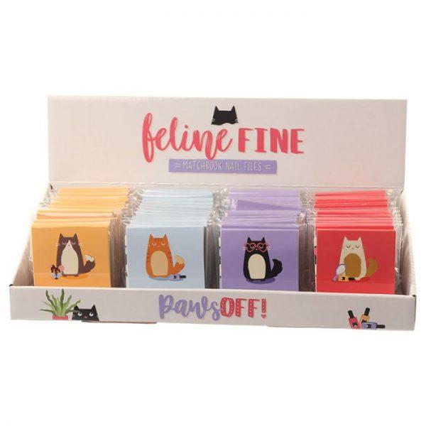 Mačka Feline Fine Pilníky na nechty 7 - pre milovníkov mačiek