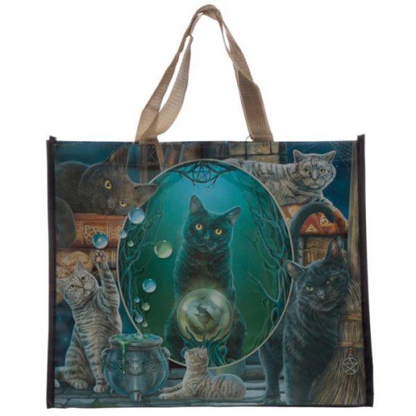 Lisa Parker Magic Cat Montage Nákupná taška 1 - pre milovníkov mačiek