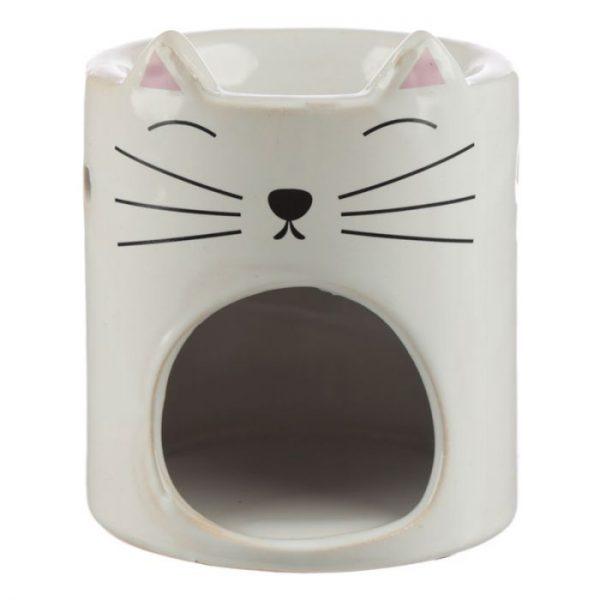 Feline Fine Ceramic Cat Head Olejová lampa 4 - pre milovníkov mačiek