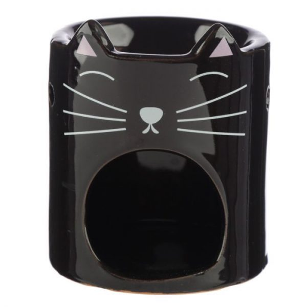 Feline Fine Ceramic Cat Head Olejová lampa 3 - pre milovníkov mačiek