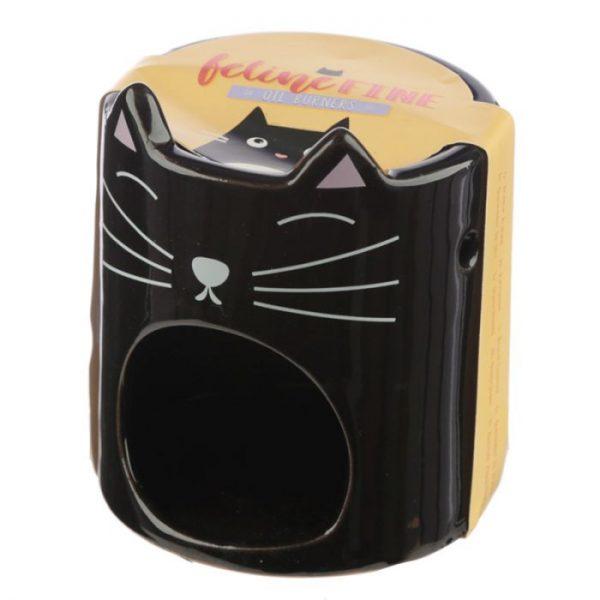 Feline Fine Ceramic Cat Head Olejová lampa 2 - pre milovníkov mačiek