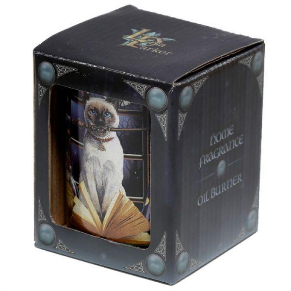 Lisa Parker Keramická aromalampa s motívom mačičky Hocus pocus 5 - pre milovníkov mačiek