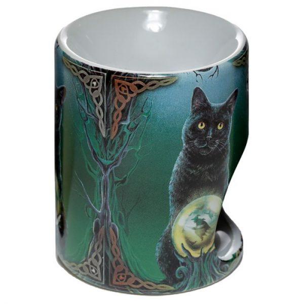 Keramická aromalampa Magická mačka - dizajn Lisa Parker 3 - pre milovníkov mačiek