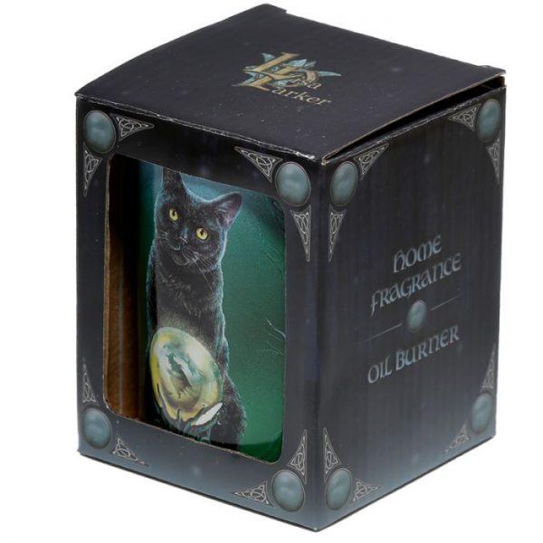 Keramická aromalampa Magická mačka - dizajn Lisa Parker 5 - pre milovníkov mačiek
