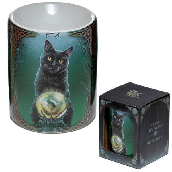 Keramická aromalampa Magická mačka - dizajn Lisa Parker 4 - pre milovníkov mačiek