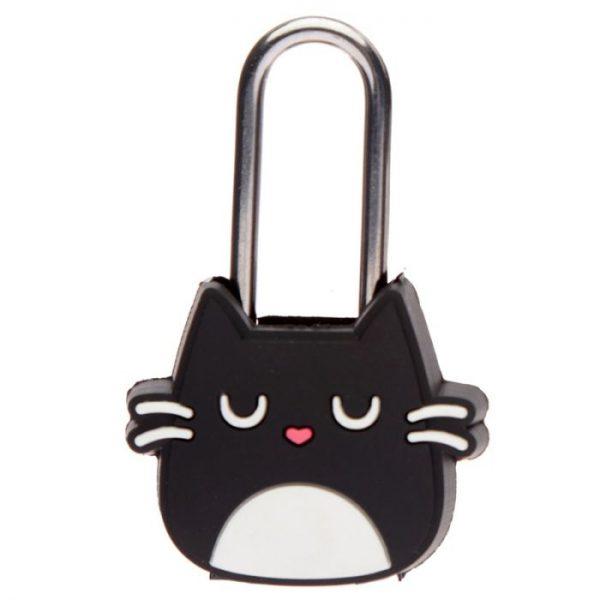 Mačka Feline Fine Travel, Mini visiaci zámok na skrinky a batožinu 2 - pre milovníkov mačiek