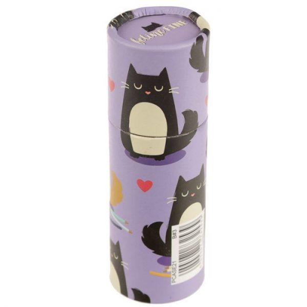 Mačka Feline Fine pastelky v puzdre 7 - pre milovníkov mačiek