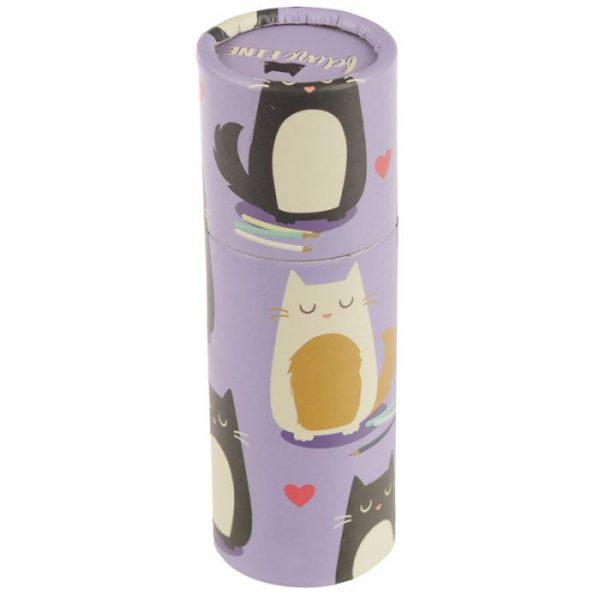 Mačka Feline Fine pastelky v puzdre 4 - pre milovníkov mačiek