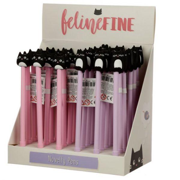 Feline Fine Cat Pero s tenkým hrotom - fialové 3 - pre milovníkov mačiek