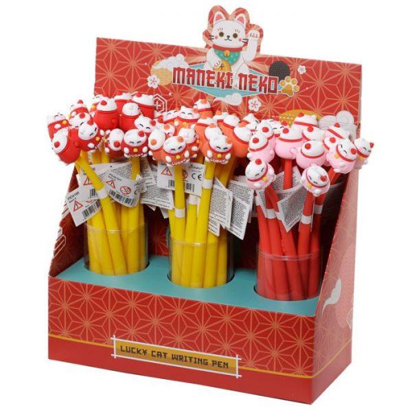 Maneki Neko - mačka šťastie Fine Tip Pen 2 - pre milovníkov mačiek