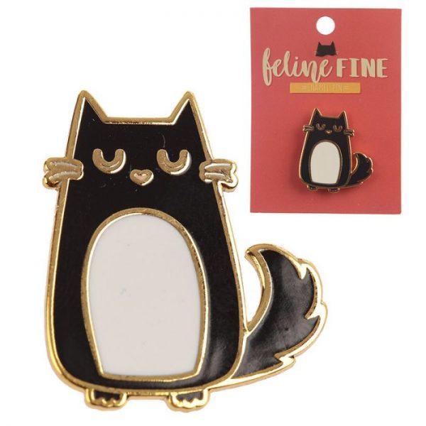 Zběratelská Mačka Feline Fine Brož 1 - pre milovníkov mačiek