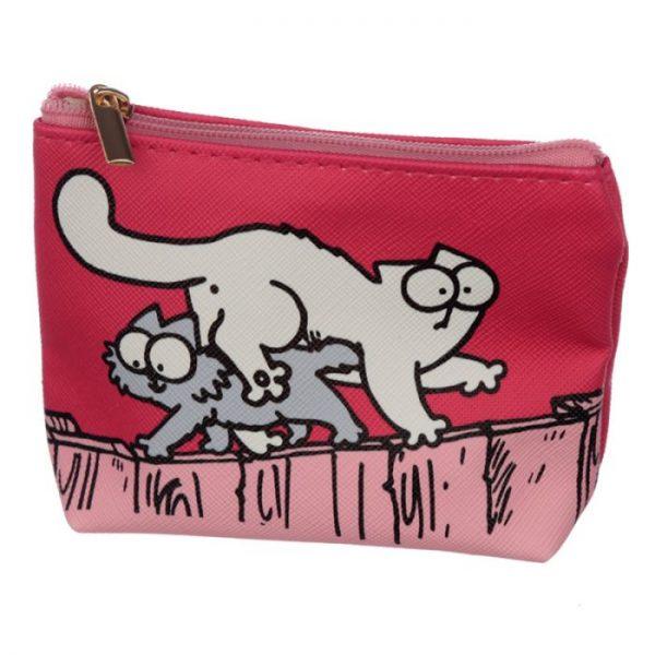 Peňaženka na mince Simon´s cat modrá 4 - pre milovníkov mačiek