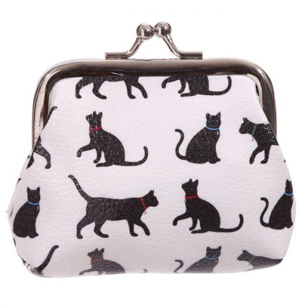 I Love My Cat Silhouette Tic Tac Peňaženka 1 - pre milovníkov mačiek