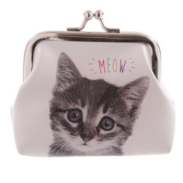 Mačka a pes MEOW WOOF Tic Tac Peňaženka 4 - pre milovníkov mačiek