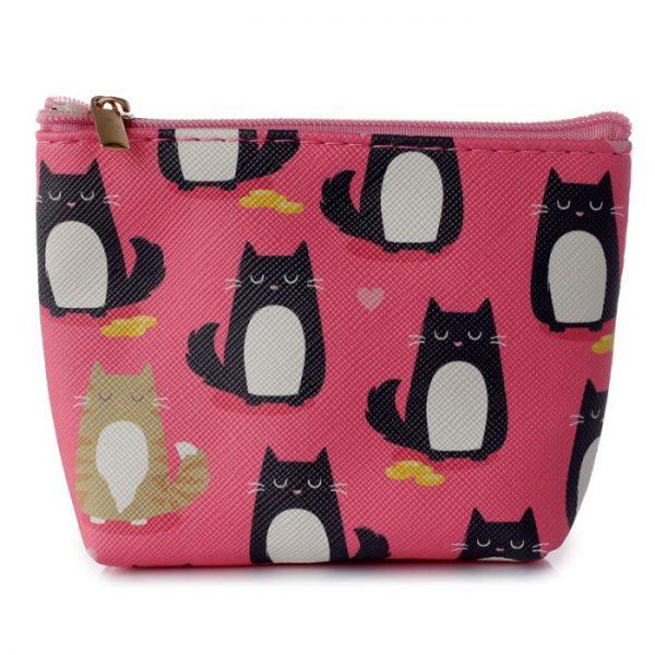 Peňaženka s mačičkami Feline Fine rúžová 1 - pre milovníkov mačiek