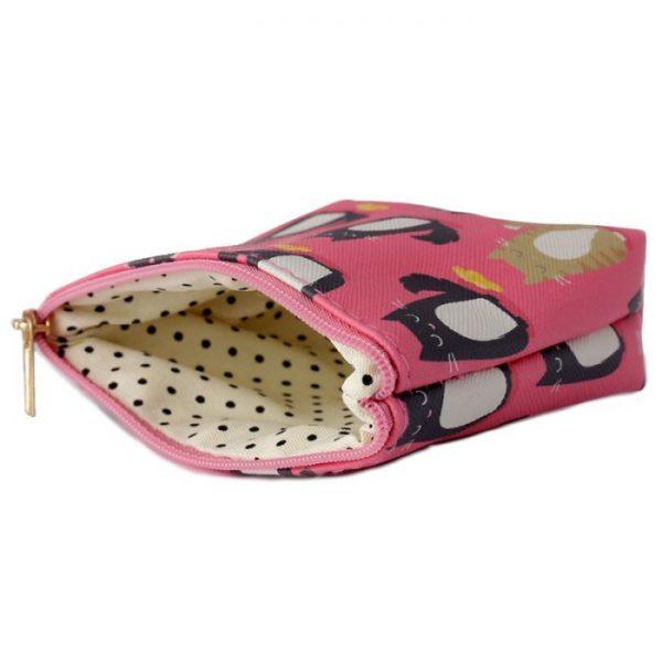 Peňaženka s mačičkami Feline Fine rúžová 3 - pre milovníkov mačiek