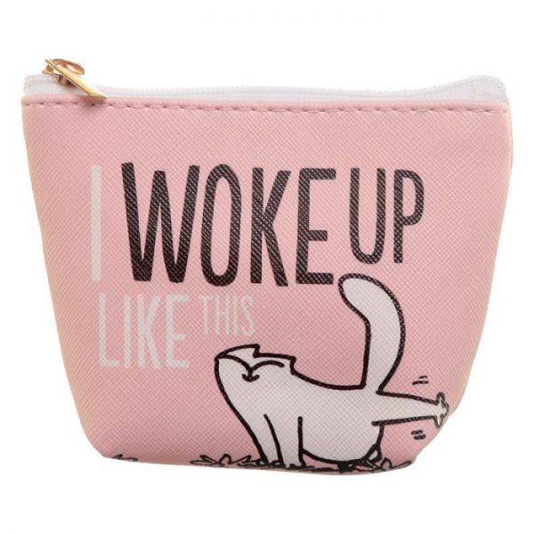 Simon's Cat Slogan PVC Peňaženka 3 - pre milovníkov mačiek