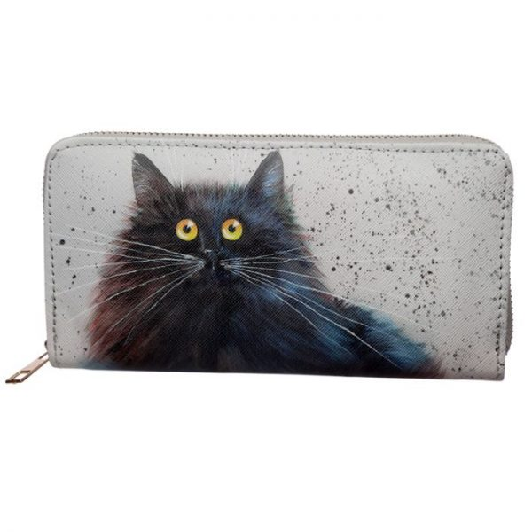Kim Haskins Cat Peňaženka na zips 3 - pre milovníkov mačiek