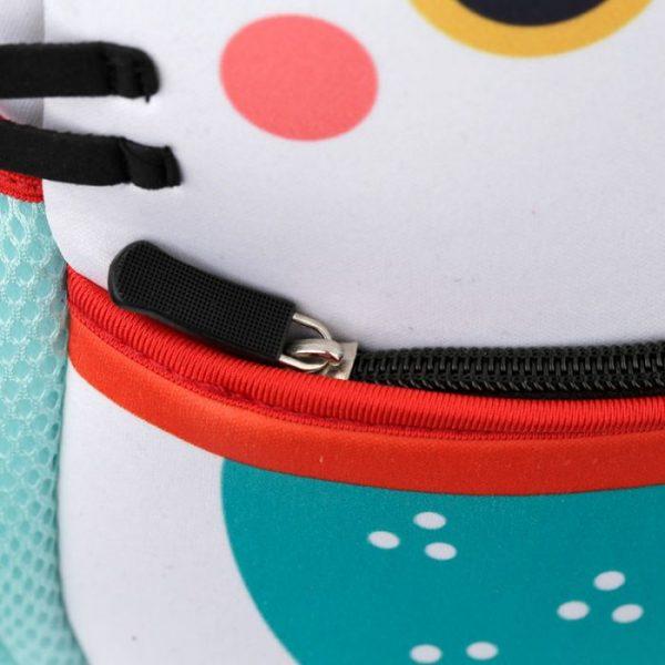 Maneki Neko - mačka šťastia neoprénový batoh 8 - pre milovníkov mačiek
