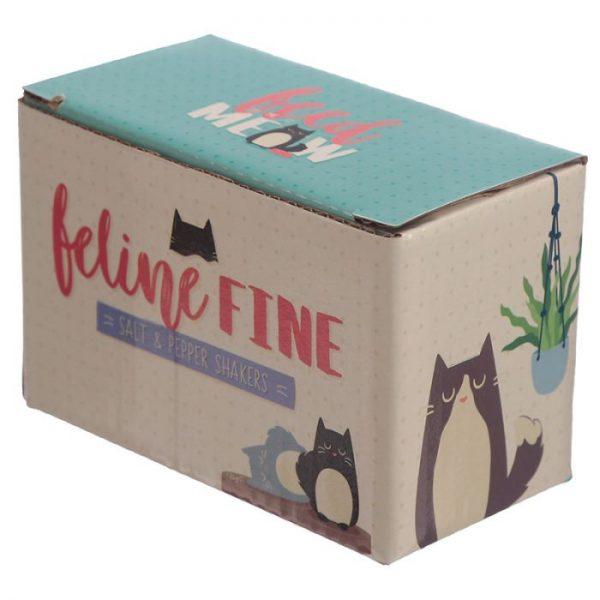 Soľnička a korenička s mačkou Feline Fine 3 - pre milovníkov mačiek