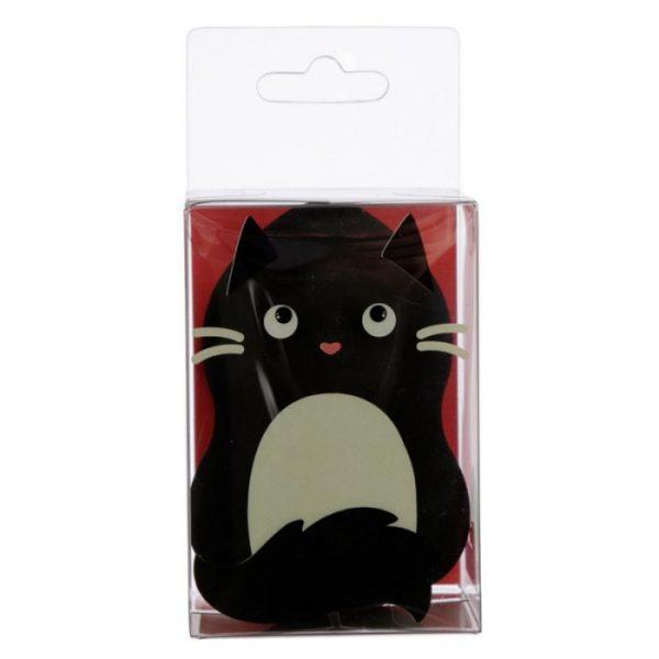 Tvarovaná hubka na make-up s mačičkou Feline Fine čierna (beautyblender) 1 - pre milovníkov mačiek