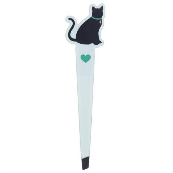 I Love My Cat Silhouette Pinzeta 4 - pre milovníkov mačiek
