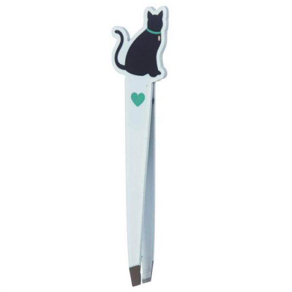 I Love My Cat Silhouette Pinzeta 5 - pre milovníkov mačiek