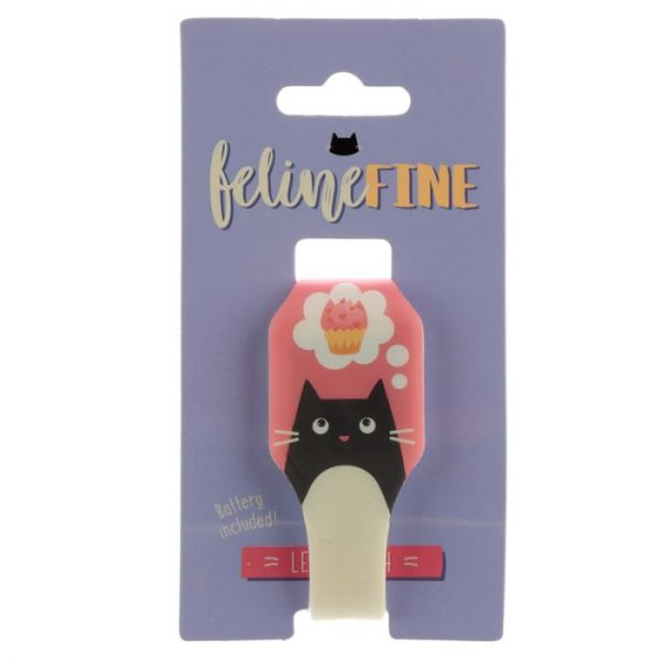 Žlté detské silikónové digitálne hodinky s motívom mačičky Feline Fine 2 - pre milovníkov mačiek