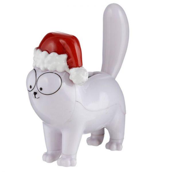 Vianočná solárna dekorácia v tvare mačičky Simon's cat 1 - pre milovníkov mačiek