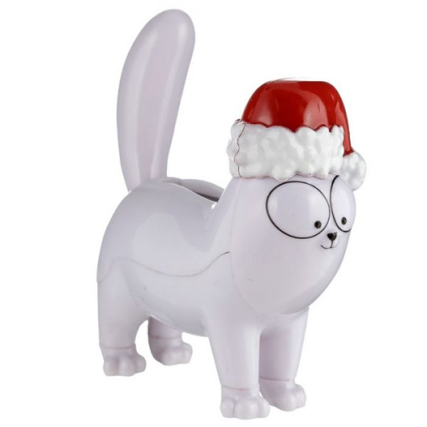 Vianočná solárna dekorácia v tvare mačičky Simon's cat 3 - pre milovníkov mačiek