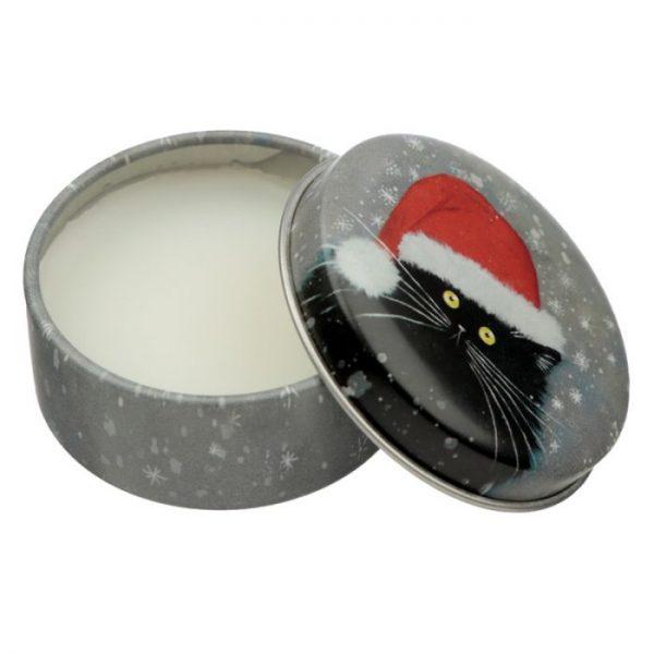 Kim Haskins Vianočný balzam na pery 7 - pre milovníkov mačiek