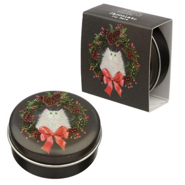 Kim Haskins Vianočný balzam na pery 5 - pre milovníkov mačiek