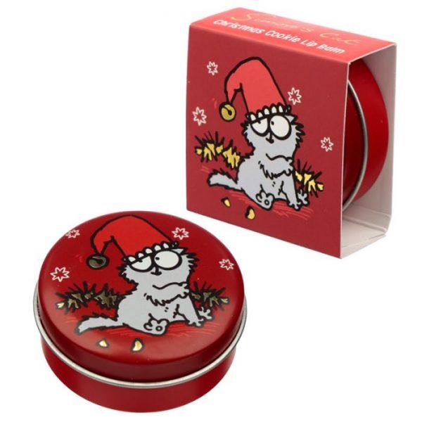 Simon's Cat Christmas Cat Balzam na pery v plechovke - Čokoláda 6 - pre milovníkov mačiek