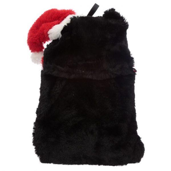 Feline Festive Vianočná Mačka 1L plyšová fľaša na horúcu vodu - termovankúšik 3 - pre milovníkov mačiek