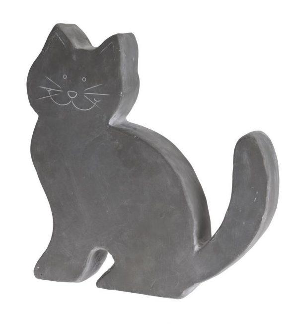 Zahradná dekorácia - postava mačky, cement 38 x 7,5 x 39,5 cm 1 - pre milovníkov mačiek