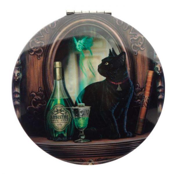 Lisa Parker Magická Mačka Kompaktné Zrkadielko - Veštec 4 - pre milovníkov mačiek