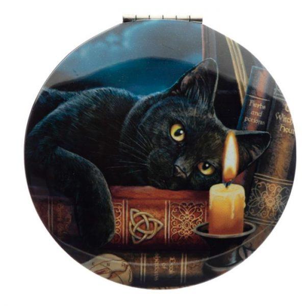 Lisa Parker Magická Mačka Kompaktné Zrkadielko - Veštec 6 - pre milovníkov mačiek