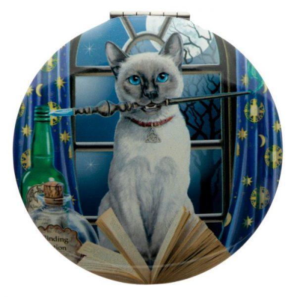 Lisa Parker Magická Mačka Kompaktné Zrkadielko - Veštec 5 - pre milovníkov mačiek