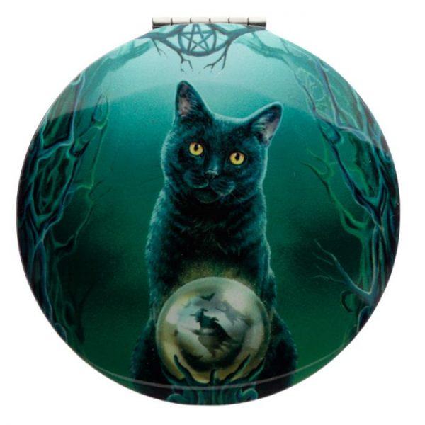 Lisa Parker Magická Mačka Kompaktné Zrkadielko - Veštec 1 - pre milovníkov mačiek